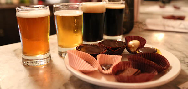 Beer And Chocolate Website Header